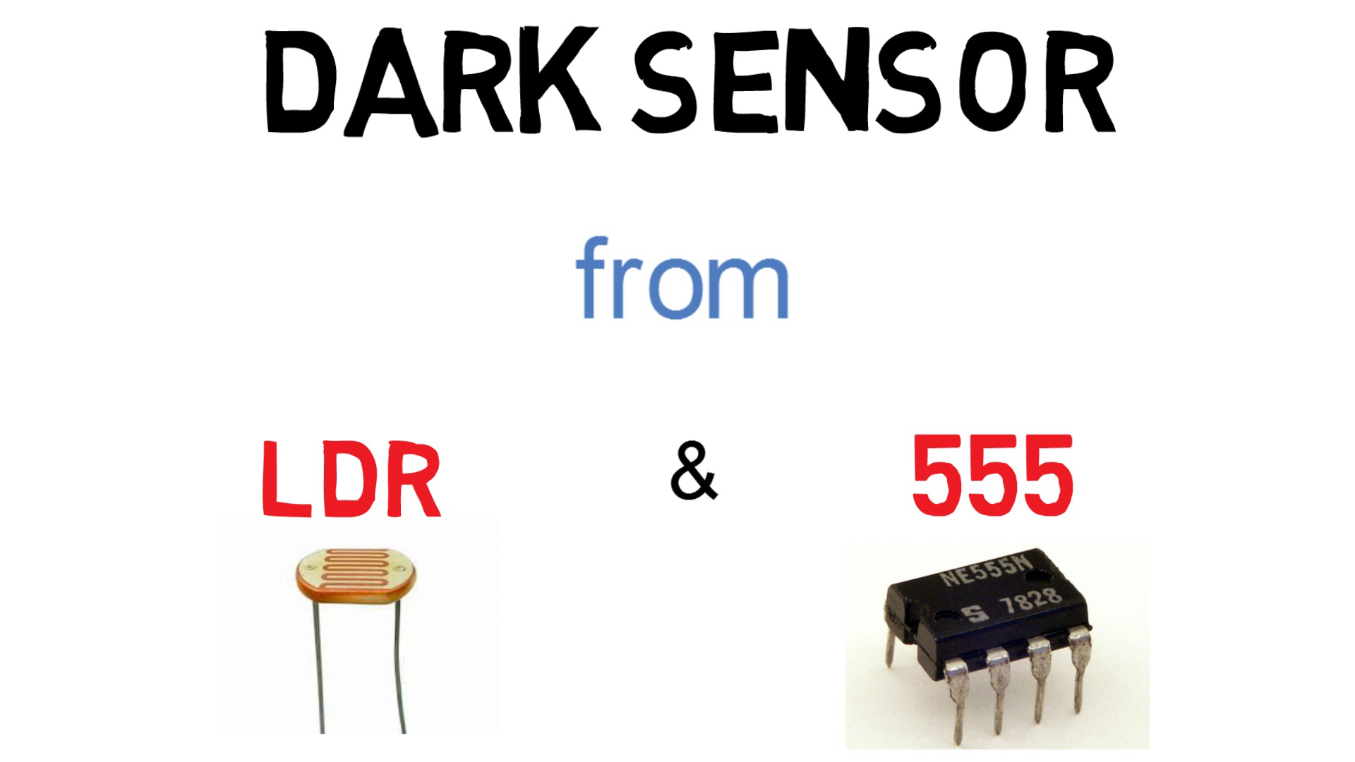How To Make A Dark Sensor Using Ldr And 555 Timer Voice Warning Circuit Diagram Sensorcircuit