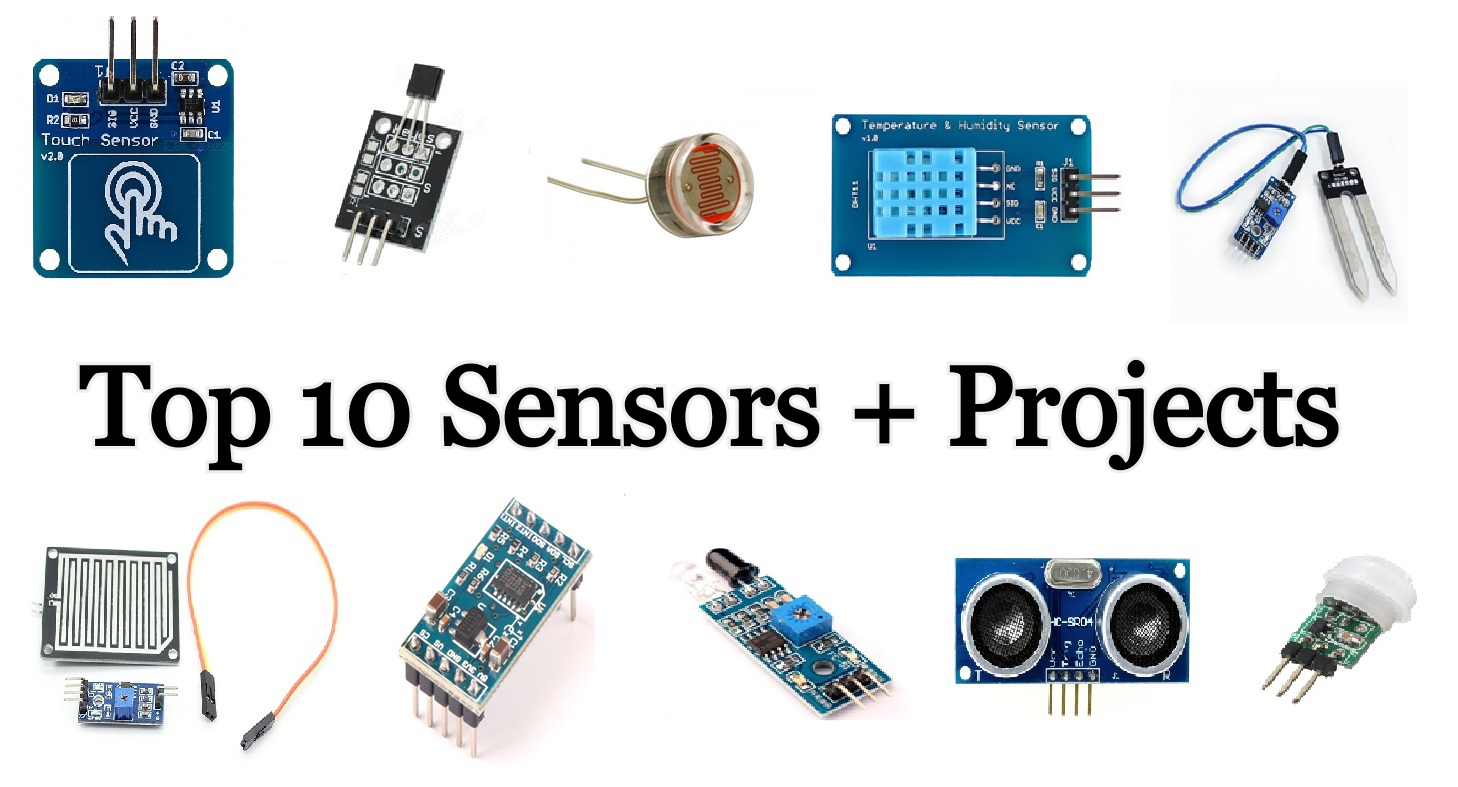 Top 10 Arduino-Sensors for Beginners