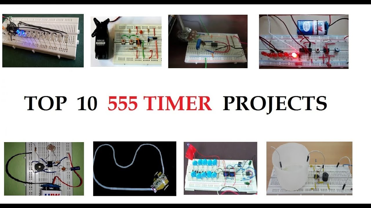TOP 10 555 Timer based Projects for Beginners in 2018