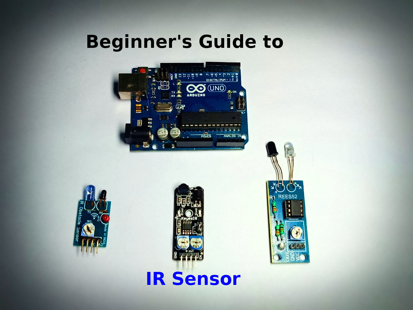 Infrarot entfernungssensor arduino how to make an ir object