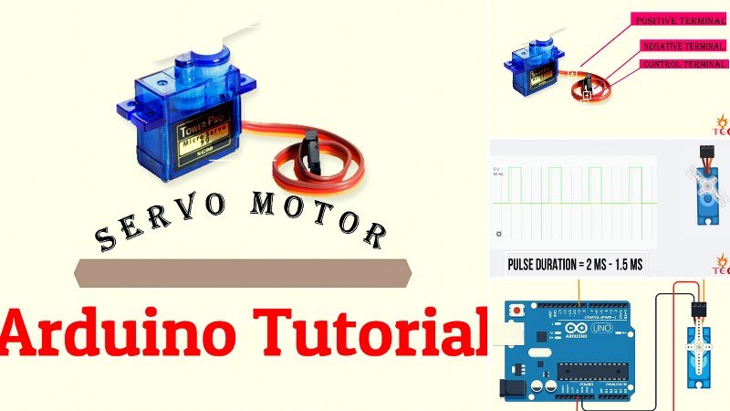 Arduino Servo Motor Guide in 2019: All you need to Know about Servos